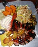 Platter w lobster, strip loin, Uhu1.JPG